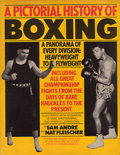 BOXING A Pictorial History Sam Andre & Nat Fleischier **GOOD COPY**