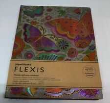 Paperblanks Flexis Flexible Softcover Lined Notebook Flutterbyes 18cm x 23cm