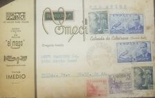 O) 1949 SPAIN,AIRMAIL, GEN. FRANCISCO FRANCO A166 50C. - JUAN DE LA SIERVA AND I
