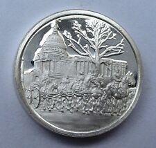 Franklin Mint Sterling Silver Mini-Ingot: 1963 America Mourns Kennedy's Death