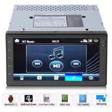 7'' Car Stereo Radio GPS Navi MP5 Player 2DIN Wifi Bluetooth USB FM Android 6.0