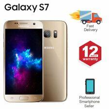 SAMSUNG GALAXY S7 32GB Sbloccato 4G SIM Android Cellulare Oro