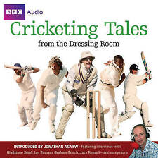 CRICKETING TALES FROM THE DRESSING ROOM -JOHNATHAN AGNEW AUDIO BOOK NEW UNSEALED