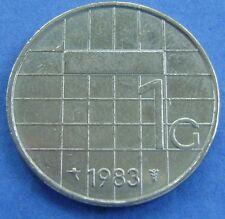 Nederland - Netherlands 1 gulden 1983   -  KM# 205