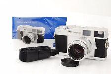 Zeiss Ikon 35mm ZM Rangefinder Camera w/ Carl zeiss planar 50mm f/2  #1350