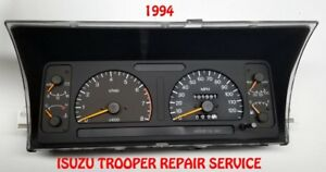 1994 ISUZU TROOPER Instrument Cluster Repair Service