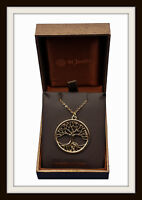 BRONZE AGE ~ TREE OF LIFE ~ BRONZE PENDANT NECKLACE ~  FROM ST JUSTIN ~ FREE P&P