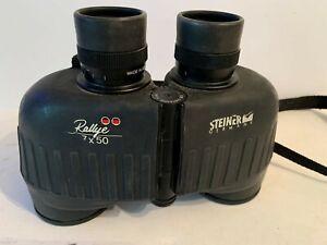 Vintage Steiner germany binoculars rallye 7X50 military desert storm marine
