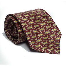 "Burberry Men Dress Silk Tie 3.75"" wide 57"" long made in ENGLAND"