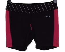 New Womens Fila Flow Stretch Sports Shorts Athletic Running Medium UK12 Hot Pant