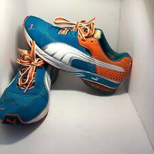 Puma Mens Toori Run NBK TL Running-Shoe BLUE ORANGE USED US 9