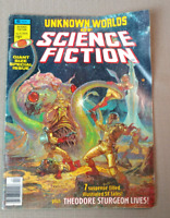 1976 Vol. 1 Unknown Worlds of Science Fiction Giant Size Issue Special Comic FN
