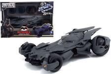 """1/24 Jada DC Comics Metals Batman V Superman 8"""" Batmobile Model Kit 97395 Grey"""