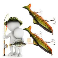 Lot 2pcs Fishing Lures Spinner Bait Swimbait Crankbait Assorted Fish Tackle JF#E