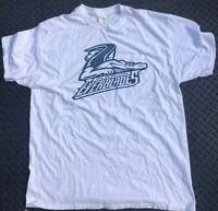Florida Everblades ECHL Hockey White T-shirt Size XL