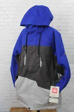 New 2018 686 Mens Geo Insulated Snowboard Jacket Small Cobalt