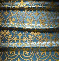 Greek Russian Church Liturgical Brocade High Quality Fabric Vestment 150cm wide