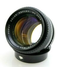 Porst 55mm F1.2 UItra Fast Aperture Lens. Pentax PK Mount (or adapt Mirrorless)