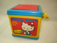 Vintage Hello Kitty Jack in the Box 1983 Child Guidance Cbs Toy Classic American