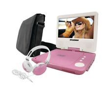 Sylvania Sdvd7060-Combo-Pink 7-Inch Portable Dvd Player Bundle with Matching Ove