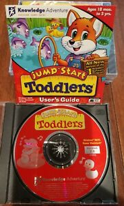 Jump Start Toddlers Users Guide Knowledge Adventure CD-ROM 18 Months To 3 Years