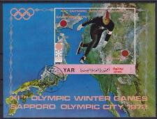 Jemen Sport Eisschnelllauf Winter Olympiade Sapporo Block 1972, Olympic Games