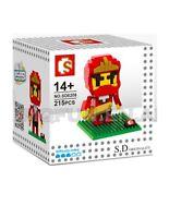 IBlock Fun Red Ninja Building Blocks