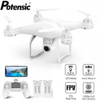Potensic T25 Dual GPS Drone FPV RC Quadcopter 1080P HD Camera WiFi Drones Toys