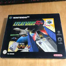 Nintendo 64 Game Boxed N64 Complete - Lylat Wars Big Box