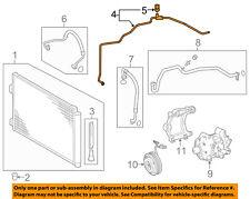 TOYOTA OEM 13-16 RAV4 2.5L A/C AC Condenser, Compressor-Liquid Line 887060R060