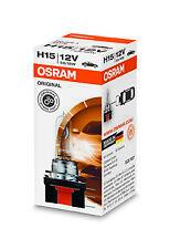1 Lampada Lampadina Luce OSRAM ORIGINAL H15 (PGJ23T-1) 12V 55W RICAMBIO ALOGENA