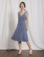 Boden Gwendolyn Jersey Dress Size 12L rrp £ 90 LS170 GG 20