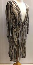 Per Una Ladies Grey Dress Sheer Beach Coverup  Summer New Moda Da Mare Size XL