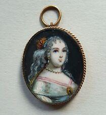 Miniatur Portrait Lady Mary Villiers, Duchess of Richmond, Hoskins nach van Dyck
