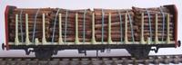 Cambrian C20 OO Gauge BR OTA-A Timber Wagon Kit
