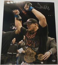 Frank Mir Signed 16x20 Photo BAS Beckett COA UFC 81 48 92 Belt Picture Autograph