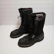 Honeywell Pro Series Model 3006 Vibram Firefighting Ems Work Boots Black 7 D
