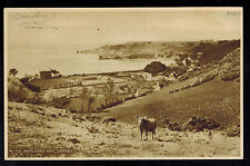 1943 Occupied Jersey England Picture Postcard First Day Cover St Brelades Bay
