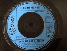 THE OSMONDS . LOVE ME FOR A REASON . 1974
