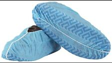 100 Disposable Shoe Covers non-skid / Medical Booties LARGE (to Men's Size 10)