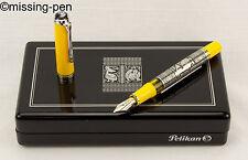 Pelikan TOLEDO Fountain Pen M910 / M 910 in Yellow from 2010 - No.9/AO43