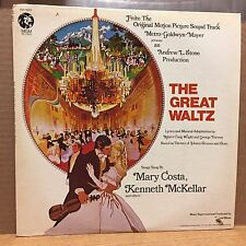 The Great Waltz SNDTRK Mary Costa VG+ MGM LP Top Hits: With You Gone/Who Are You
