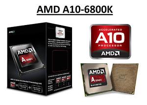 AMD A10-6800K Quad Core Processor 4.1 - 4.4 GHz, Socket FM2, 100W CPU