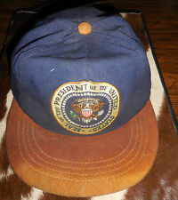 Presidential Seal White House Staff Cap Suede Brim