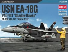 "Academy 1/72 #12560 USN EA-18G ""Shadow Hawks"" With Free Shipping + Free Gifts"