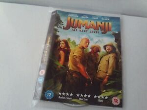 Jumanji: The Next Level (DVD, 2020) - Disc & Cover Only - No Case