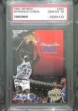 1992 Skybox Rookie #382 Shaquille O'Neal PSA 10