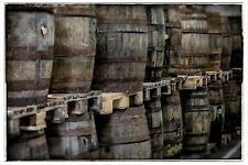 Gebrauchtes Whisky Fass Eichenholz Weinfass