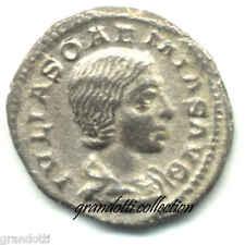 GIULIA SOEMIA DENARIO NON COMUNE CON LA VENERE CELESTE 220 D.C.