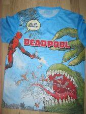Primark Marvel Deadpool Official T shirt Men MAN'S NEW BNWT SIZE  LARGE